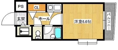 ドミ・エスポワール箱崎Ⅵ 604